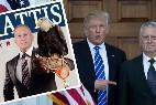 James 'Perro Loco' Mattis con Donald Trump.