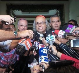 Monseñor Brenes, tras el encuentro
