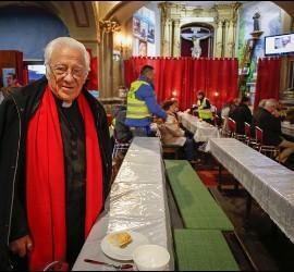 El Padre Ángel, en San Antón