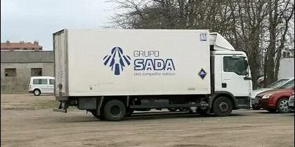 Vehículo de la empresa Sada