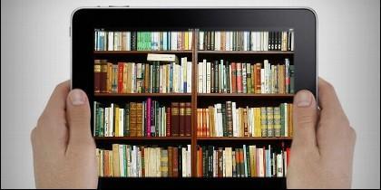 Tablet, online, libro digital.