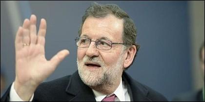 Mariano Rajoy (PP), presidente del Gobierno de España.