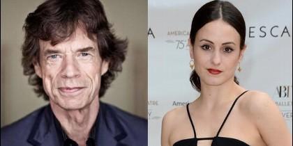 Mick Jagger y Melanie Hamrick