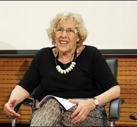 Manuela Carmena, alcadesa de Madrid