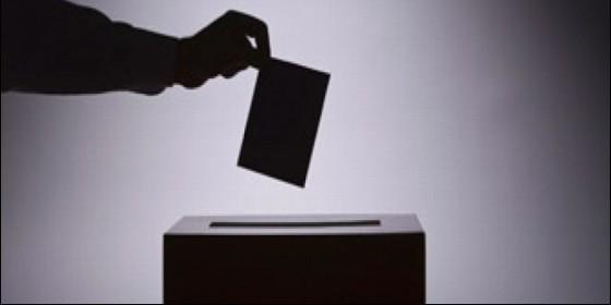 Urna, voto, encuesta, elección, política y referéndum.