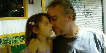 El padre de Nadia Nerea, Fernando Blanco.