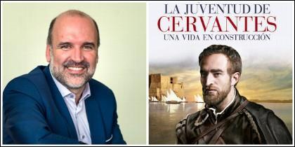 José Manuel Lucía y su biografía de Cervantes editada por EDAF.