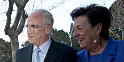Vicente Sala su esposa Maria del Carmen Martinez