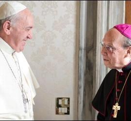 El Papa, con el prelado del Opus Dei