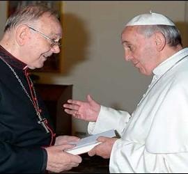 Fernando Sebastián, con el Papa