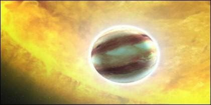 El exoplaneta HAT-P-7b