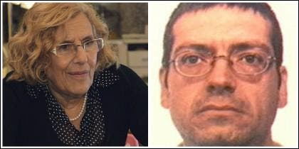 Manuela Carmena y el etarra Azcárate.