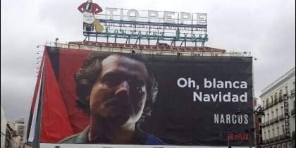 Narcos publicidad Madrid