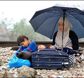 Casi la mitad de los desplazados son menores