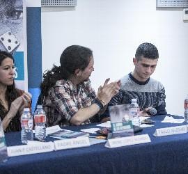 Irene, Pablo Iglesias y Abdul