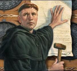 Las tesis de Lutero