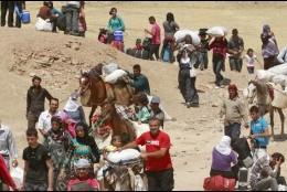 Cáritas, con los refugiados