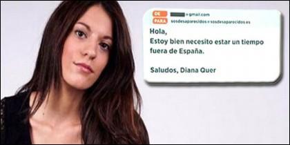 Diana Quer y el misterioso mensaje