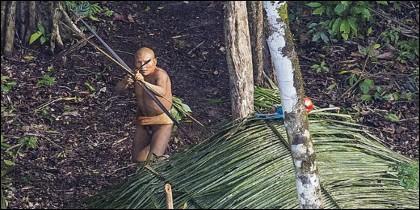 BBC Brasil tuvo acceso a una parte de las imágenes que Stuckert tomó el domingo pasado