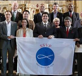 La nueva cúpula de la Sociedad de San Vicente de Paúl