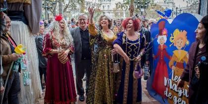 Tres señoras valencianas