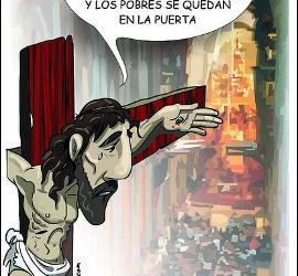 Cristo y los pobres