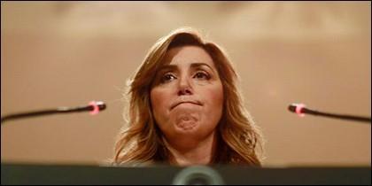 Susana Díaz, secretaria general del PSOE en Andalucía.