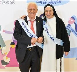 Sor Lucía y el Padre Ángel, comprometidos con la infancia