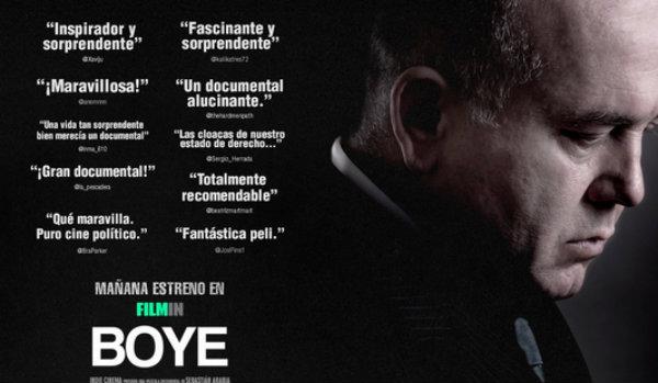 Cartel del documental 'Boye'.