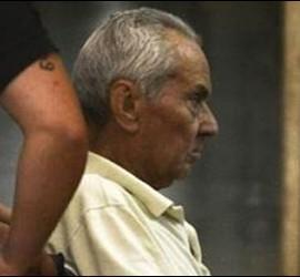 Nicola Corradi, saliendo del centro penitenciario