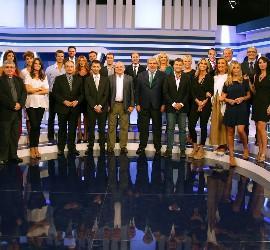 Parte del actual equipo de 13TV