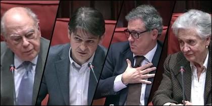 La comparecencia de la familia Pujol ante la comisión de investigación del Parlament de Catalunya.