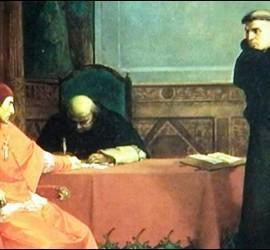 Lutero y el cardenal Cayetano