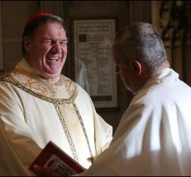 El cardenal Tobin, en su misa de instalación en Newark