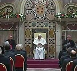El Papa, en el discurso al cuerpo diplomático