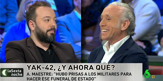 Eduardo Inda y Antonio Maestre.
