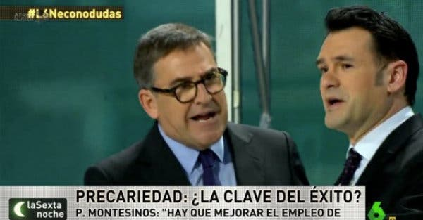 Juan Torres junto a Iñaki López en laSexta Noche.
