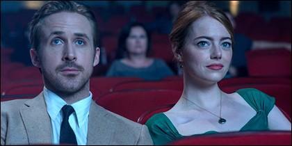 Una imagen de la película La La Land.