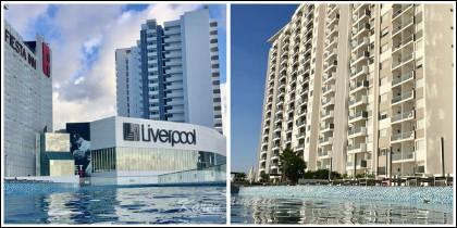 Pisos de lujo en Cancún.