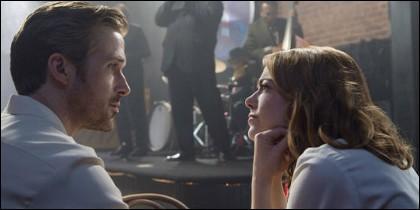 Pantallazo de la película 'La ciudad de las estrellas-La La Land'.