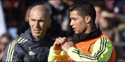 El acuerdo secreto entre Cristiano Ronaldo y Zinedine Zidane