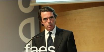 José María Aznar (PP).