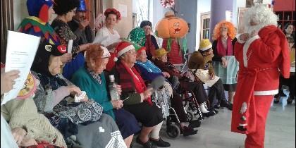 Celebración de la Navidad en la Residencia de Mayores San Rafael