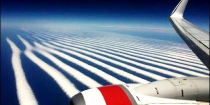 Extrañas nubes