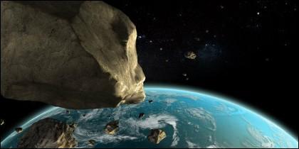 Peligrosos asteroides