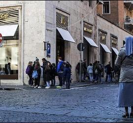 El nuevo McDonald's del Vaticano