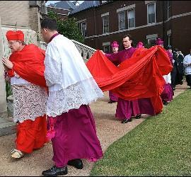 La capa magna del cardenal Burke