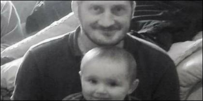 Nick Rose, y su hijo