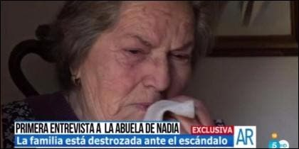 Catalina, la abuela de Nadia.