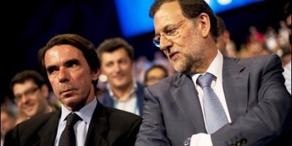 José María Aznar y Mariano Rajoy.